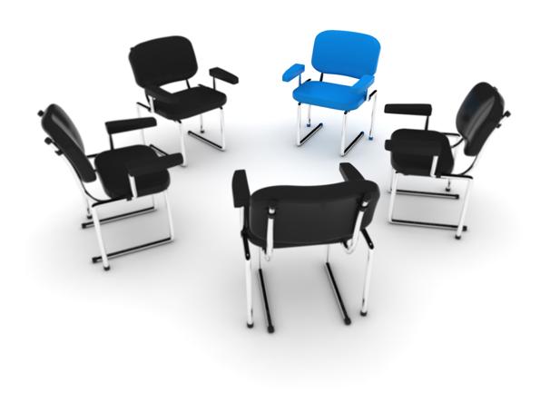 崭新变形设计的办公家具突出了舒服简约的特征